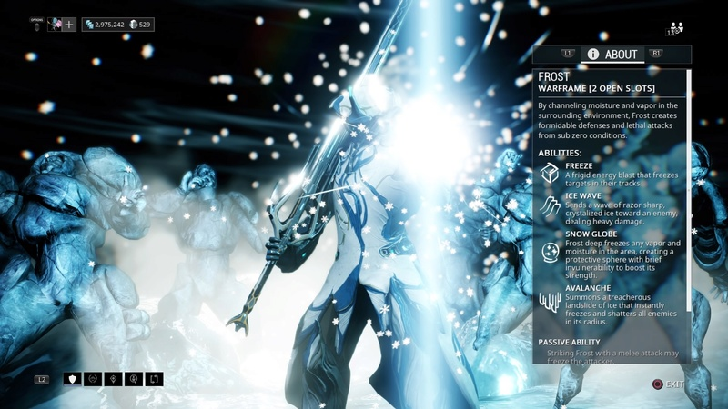 Guide: Warframe tips! (PS4) Frost10