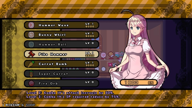 Review: Rabi-Ribi (PS4 PSN) Rabi-r17
