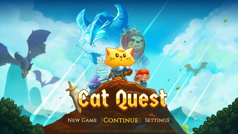 Review: Cat Quest (PS4 PSN) Theme10