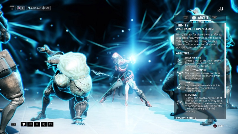 Guide: Warframe tips! (PS4) Trinit10