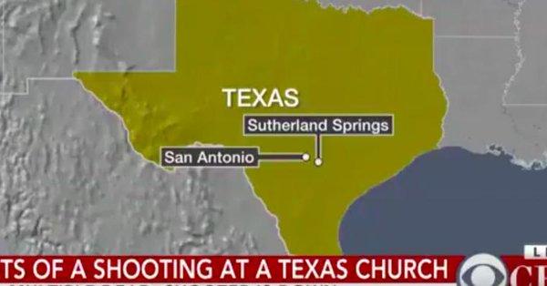 Fusillade dans une église au Texas: Au moins 20 morts et plusieurs blessés T_zv3m10