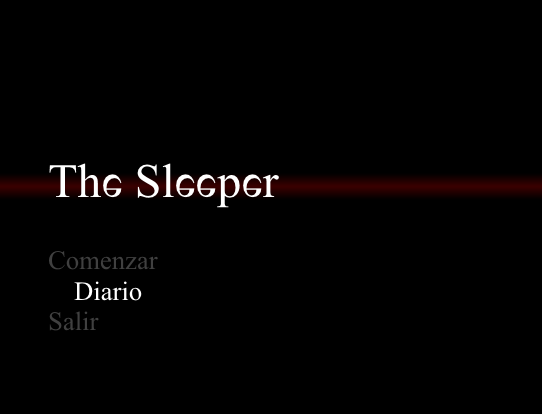 The Sleeper (La durmiente): Demo Screen16