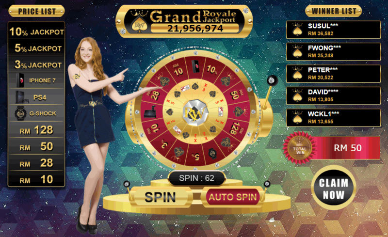 LOGIN to get your FREE spin now! Captur11