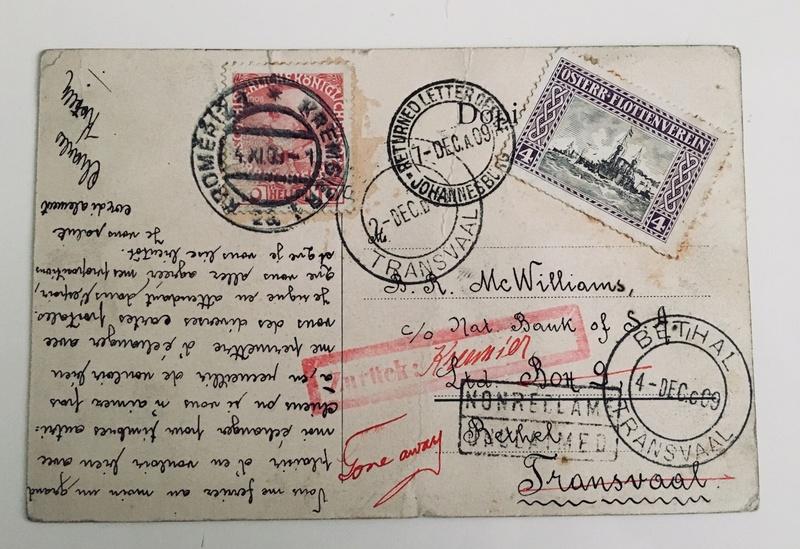 Irrläufer Belege Österreich // Sammlerpost International vor dem I. Weltkrieg Img_3910