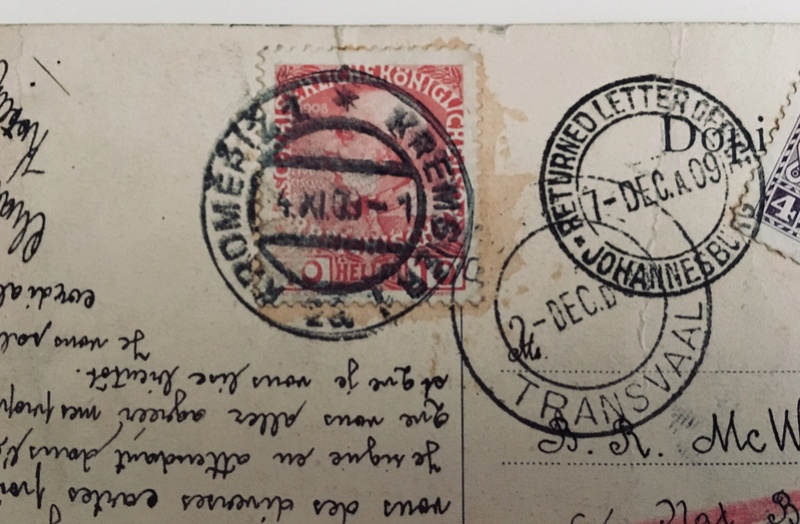 Irrläufer Belege Österreich // Sammlerpost International vor dem I. Weltkrieg Img_3911