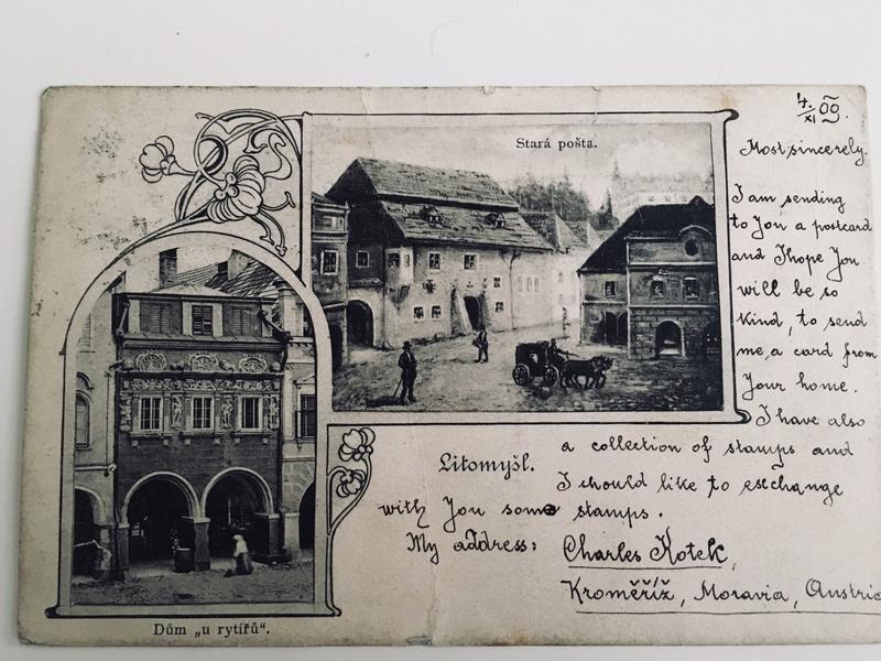 Irrläufer Belege Österreich // Sammlerpost International vor dem I. Weltkrieg Img_4013