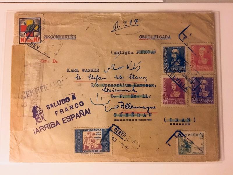 nach - Flugpost nach Österreich - Seite 2 Iran210