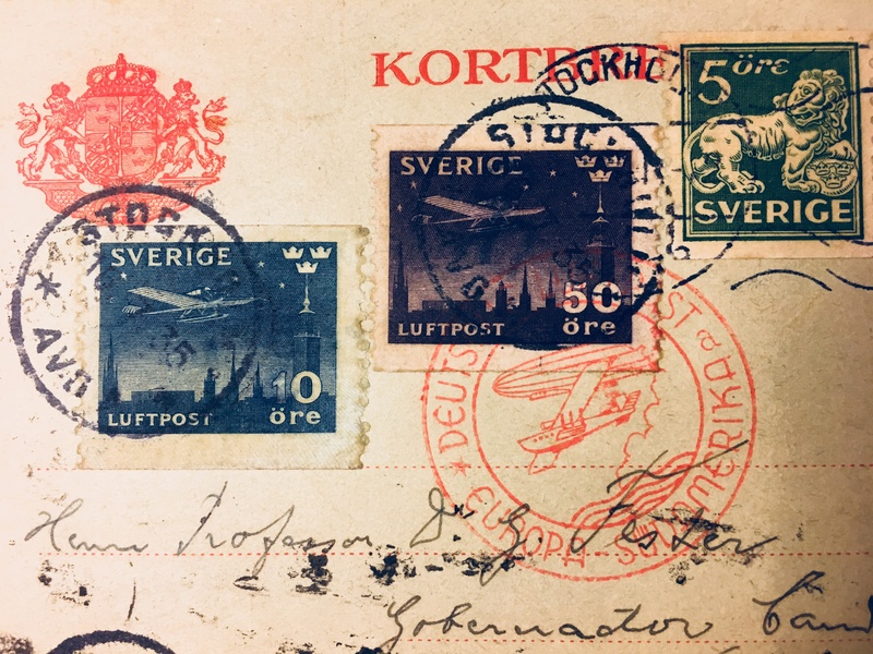 Liechtenstein - Zeppelin-Zuleitungspost - Seite 7 Schwed11
