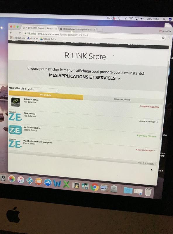 Plus de voix sur R-Link Zoé suite à màj GPS 82cc4510