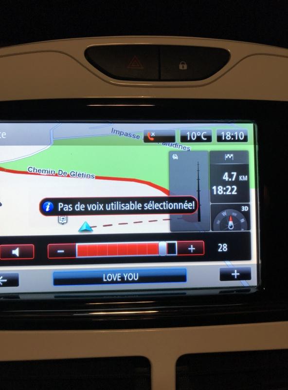 Plus de voix sur R-Link Zoé suite à màj GPS C5432710