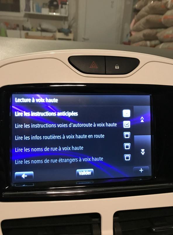 Plus de voix sur R-Link Zoé suite à màj GPS Dcb27f10
