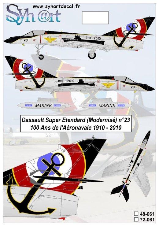 """Dassault Super-Etendard  ( Academy 1/72) """"Tiger Meet 2017 """" Syhartdecals - Page 2 061_pl10"""