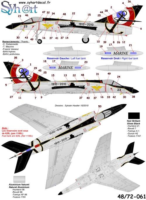 """Dassault Super-Etendard  ( Academy 1/72) """"Tiger Meet 2017 """" Syhartdecals - Page 2 061_pl11"""