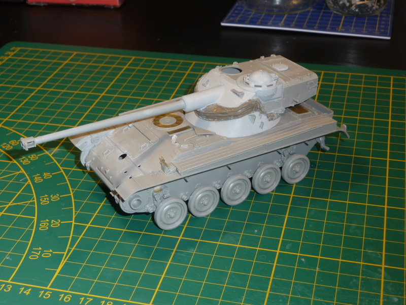AMX-13/75 w/SS-11 ATGM 1/35 ( Takom 2038 ) *** Terminé en pg 4 P1230527