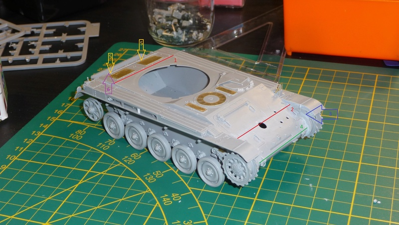 AMX-13/75 w/SS-11 ATGM 1/35 ( Takom 2038 ) *** Terminé en pg 4 P1230532