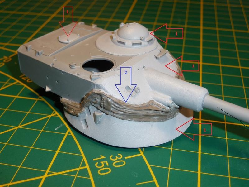 AMX-13/75 w/SS-11 ATGM 1/35 ( Takom 2038 ) *** Terminé en pg 4 P1230533