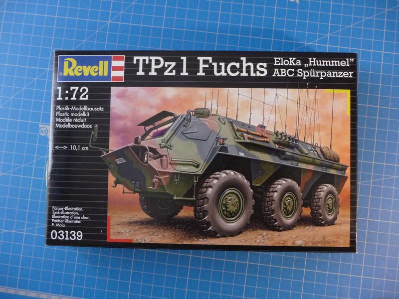 TPz1 Fuchs Eloka /TPz1 Fuchs ABC  (Revell 1/72) P1230727