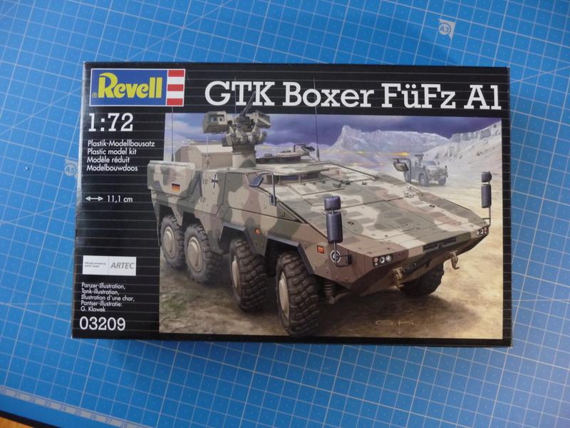 GTK Boxer FüFz A1 / GTK Boxer GTFz A1 1/72 ( Revell 03209 / Revell 03198 ) *** Terminé en pg 3 P1230728