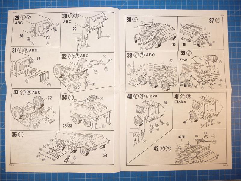 TPz1 Fuchs Eloka /TPz1 Fuchs ABC  (Revell 1/72) P1230810