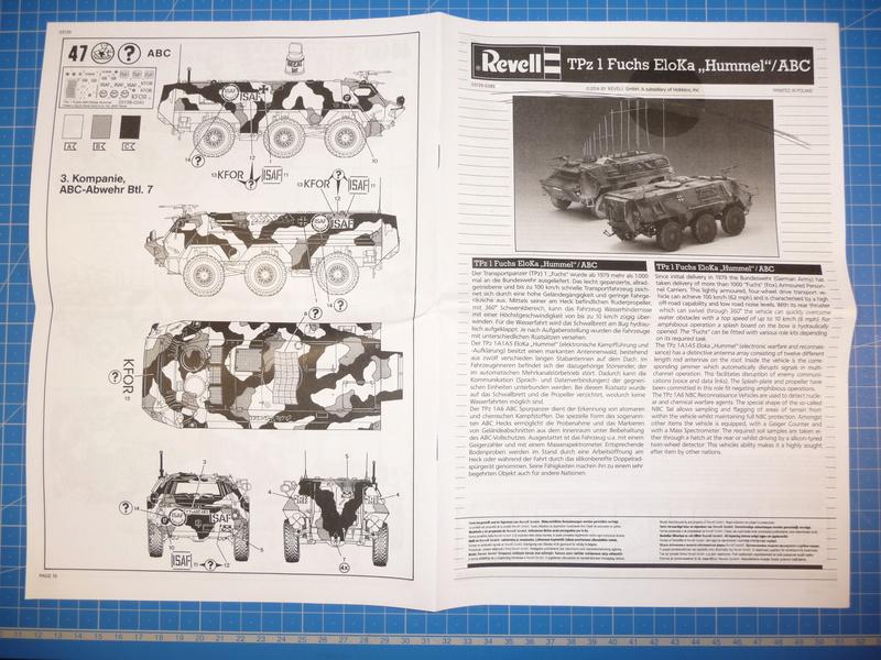 TPz1 Fuchs Eloka /TPz1 Fuchs ABC  (Revell 1/72) P1230812