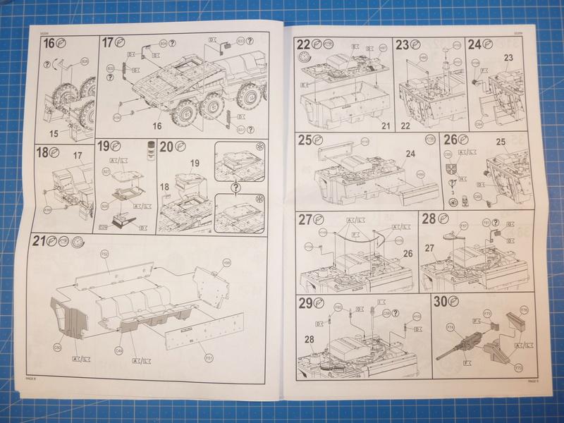 GTK Boxer FüFz A1 / GTK Boxer GTFz A1 1/72 ( Revell 03209 / Revell 03198 ) *** Terminé en pg 3 P1230816
