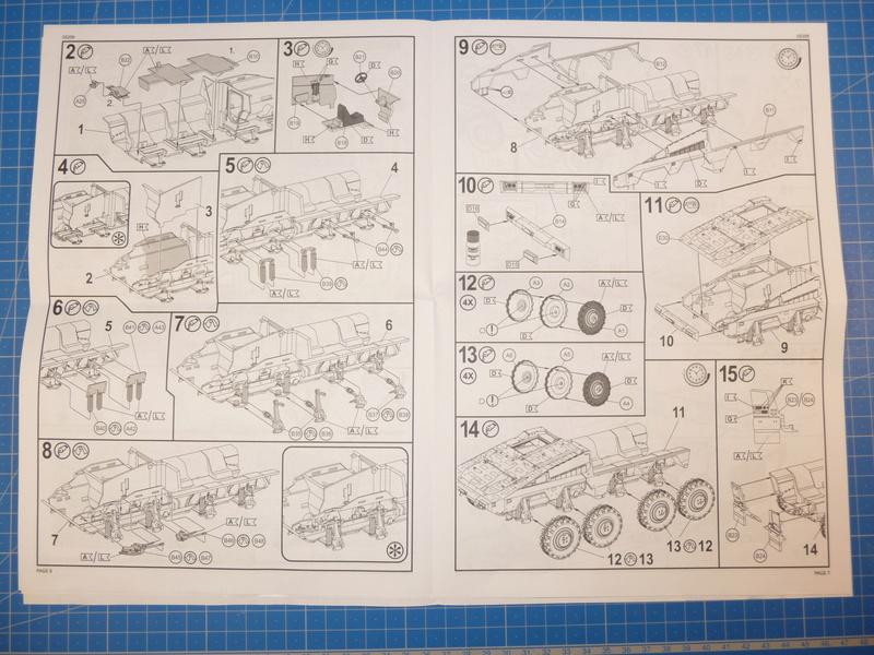 GTK Boxer FüFz A1 / GTK Boxer GTFz A1 1/72 ( Revell 03209 / Revell 03198 ) *** Terminé en pg 3 P1230818