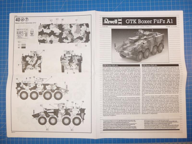 GTK Boxer FüFz A1 / GTK Boxer GTFz A1 1/72 ( Revell 03209 / Revell 03198 ) *** Terminé en pg 3 P1230819