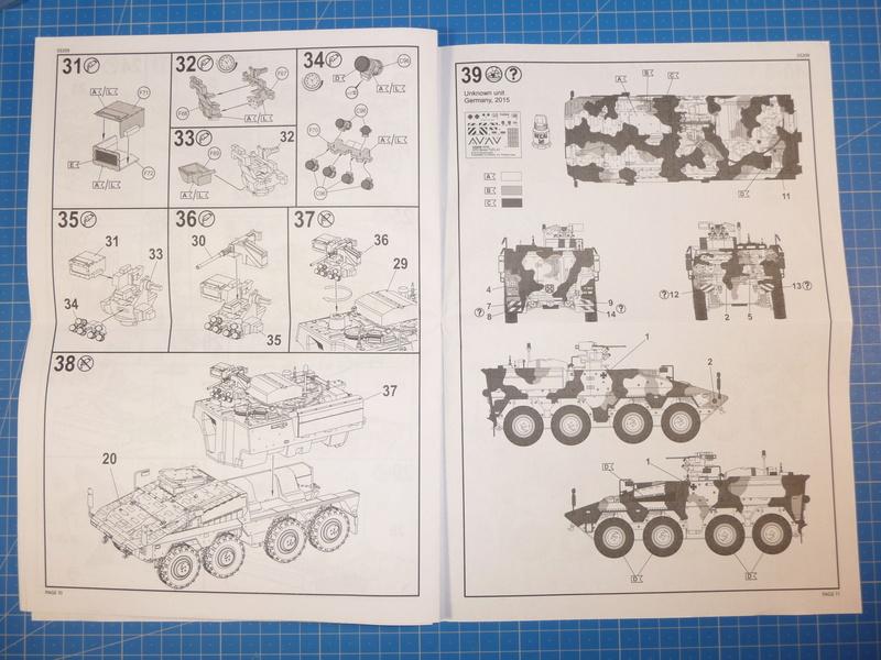 GTK Boxer FüFz A1 / GTK Boxer GTFz A1 1/72 ( Revell 03209 / Revell 03198 ) *** Terminé en pg 3 P1230820