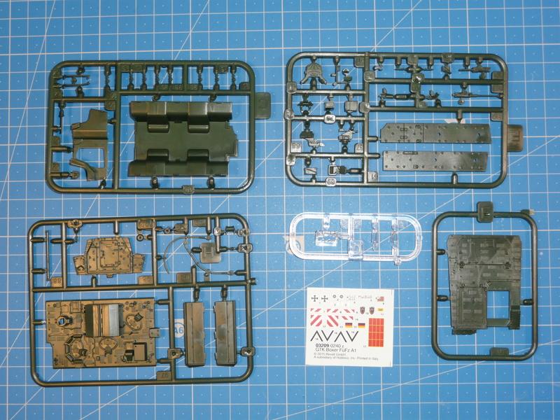 GTK Boxer FüFz A1 / GTK Boxer GTFz A1 1/72 ( Revell 03209 / Revell 03198 ) *** Terminé en pg 3 P1230821