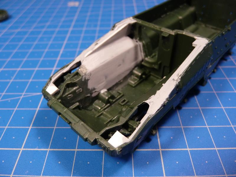 GTK Boxer FüFz A1 / GTK Boxer GTFz A1 1/72 ( Revell 03209 / Revell 03198 ) *** Terminé en pg 3 P1230827