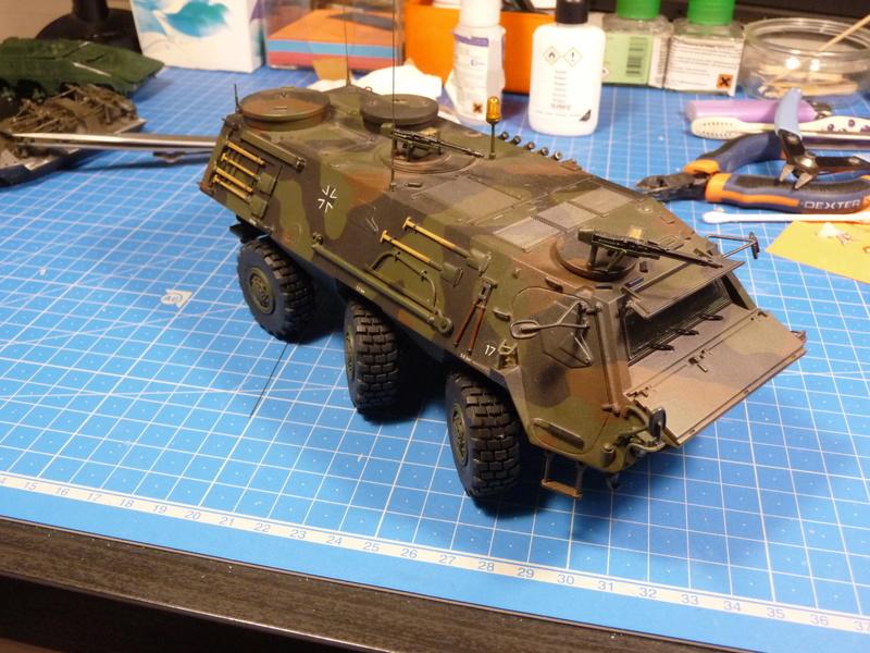 TPz1 Fuchs Eloka /TPz1 Fuchs ABC  (Revell 1/72) P1230836