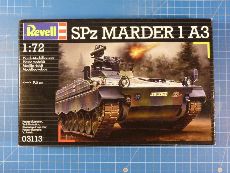 SPz Marder 1A3 1/72 ( Revell 03113 ) *** Terminé en pg 2 P1230919