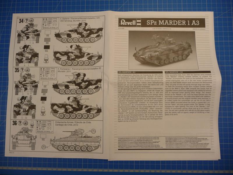 SPz Marder 1A3 1/72 ( Revell 03113 ) *** Terminé en pg 2 P1230922