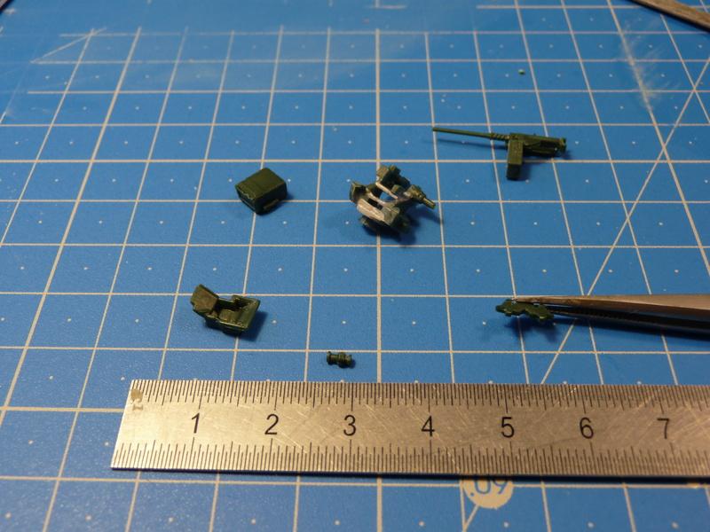 GTK Boxer FüFz A1 / GTK Boxer GTFz A1 1/72 ( Revell 03209 / Revell 03198 ) *** Terminé en pg 3 P1230929
