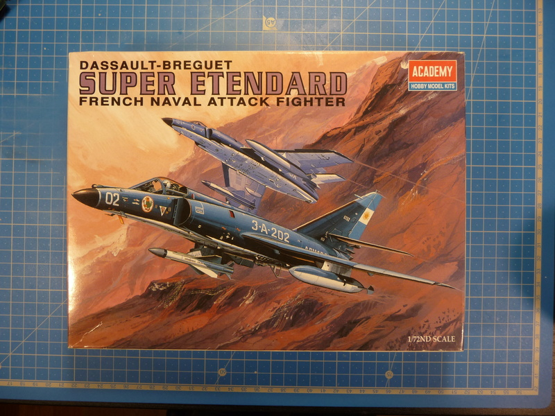 "Dassault Super-Etendard  ( Academy 1/72) ""Tiger Meet 2017 "" Syhartdecals P1240130"