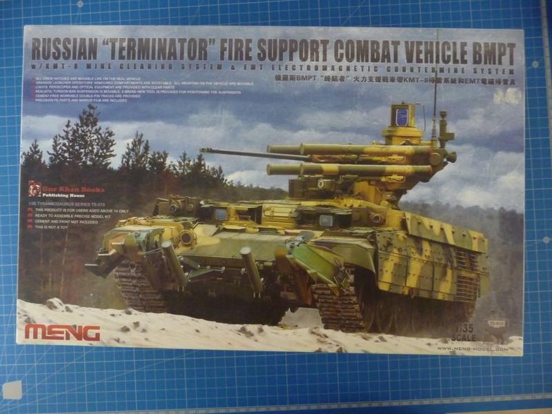 BMPT Terminator w/KMT-8 (Meng  1/35) P1240335