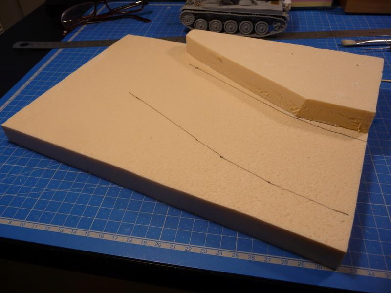 Un Diorama pour l'Amx-13/75 *** Terminé en pg 3 P1240421
