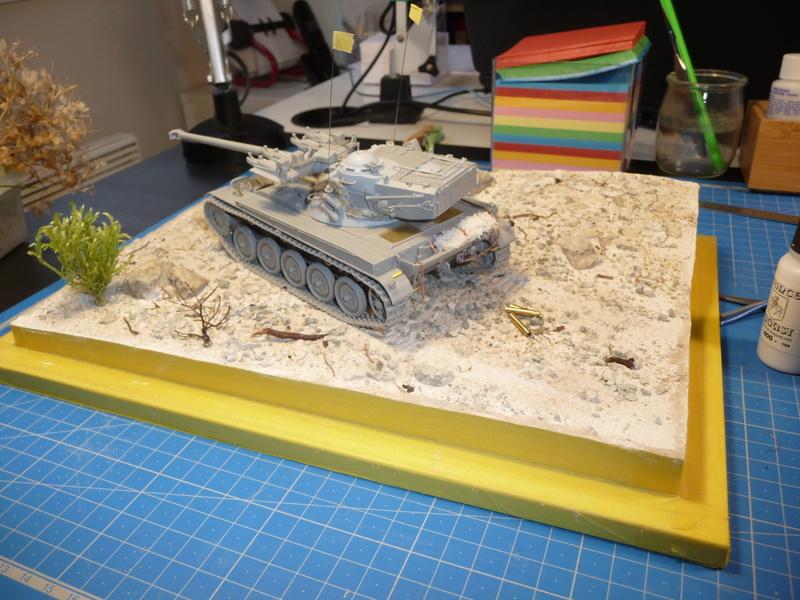 Un Diorama pour l'Amx-13/75 *** Terminé en pg 3 P1240524