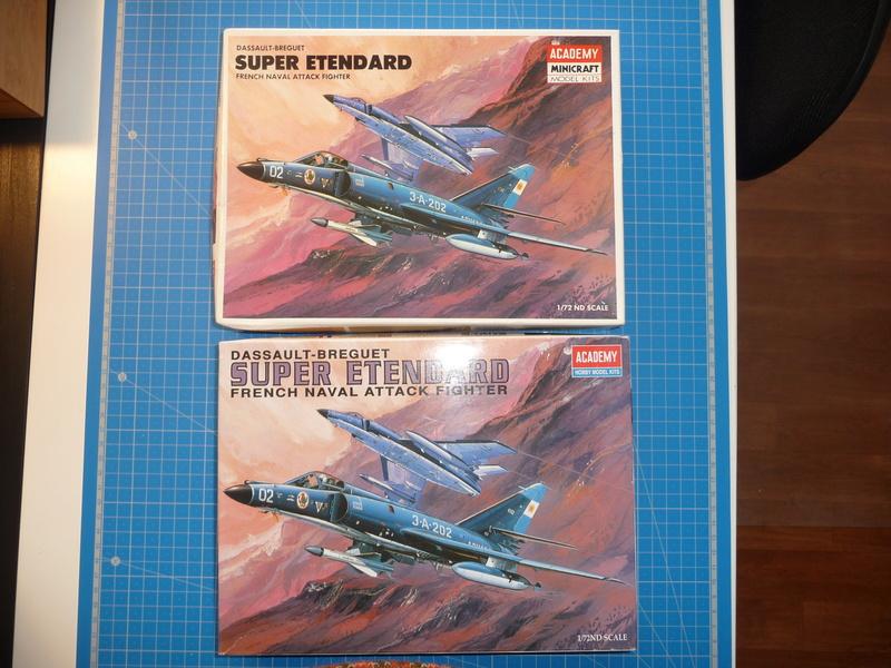 """Dassault Super-Etendard  ( Academy 1/72) """"Tiger Meet 2017 """" Syhartdecals - Page 2 P1240937"""