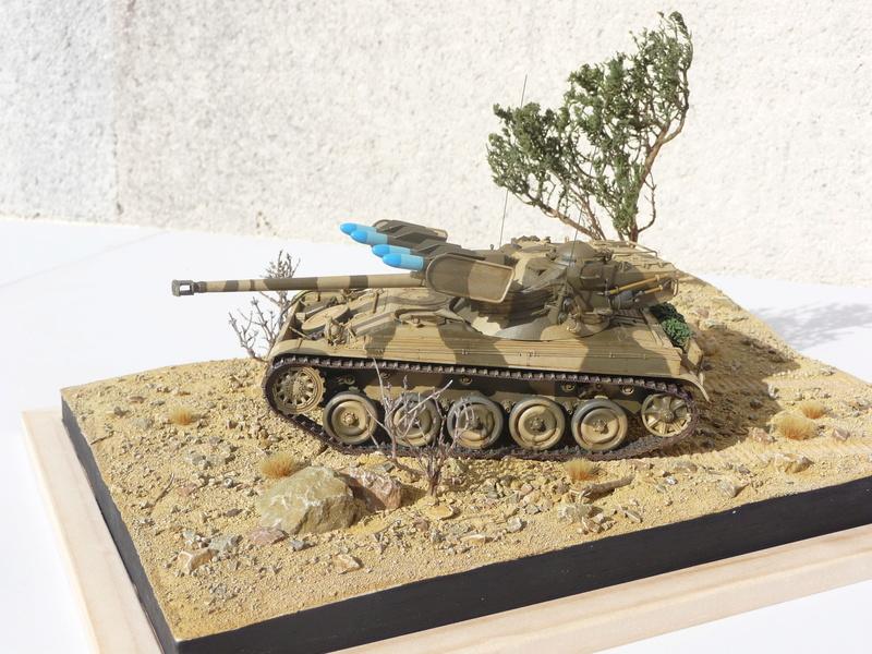 AMX-13/75 w/SS-11 ATGM 1/35 ( Takom 2038 ) *** Terminé en pg 4 - Page 4 P1250017