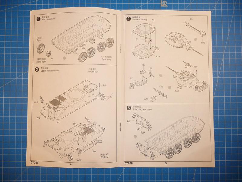 LAV-25 USMC 1/72 ( Trumpeter 07268 ) *** Terminé en pg 1 P1250811