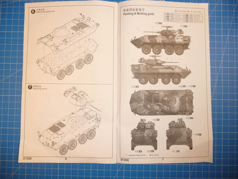 LAV-25 USMC 1/72 ( Trumpeter 07268 ) *** Terminé en pg 1 P1250812
