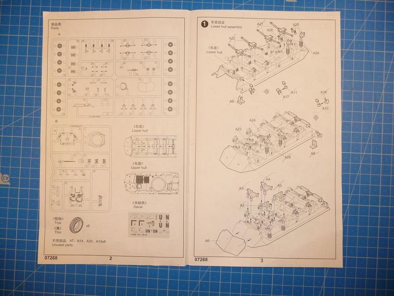 LAV-25 USMC 1/72 ( Trumpeter 07268 ) *** Terminé en pg 1 P1250814