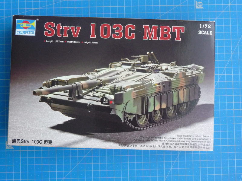 Strv 103C MBT (trumpeter 1/72) P1250820