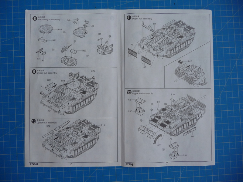 Strv 103C MBT (trumpeter 1/72) P1250822