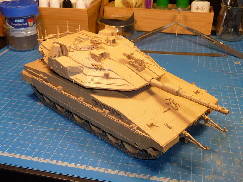 Merkava Mk.4M w/Trophy Active Protection System 1/35 ( Meng TS-036 ) - Page 3 P1270125