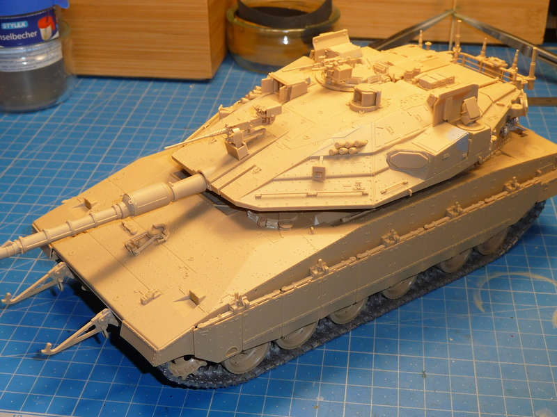 Merkava Mk.4M w/Trophy Active Protection System 1/35 ( Meng TS-036 ) - Page 3 P1270126