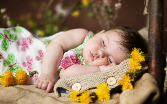 Как дети спят Child-10