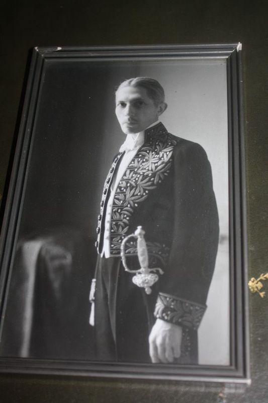 1921, notre ambassadeur au Japon est de retour en France :   039kg10