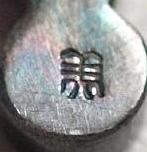 Les poinçons sur les médailles et ordres japonais de Meiji à Showa : 1_poin10